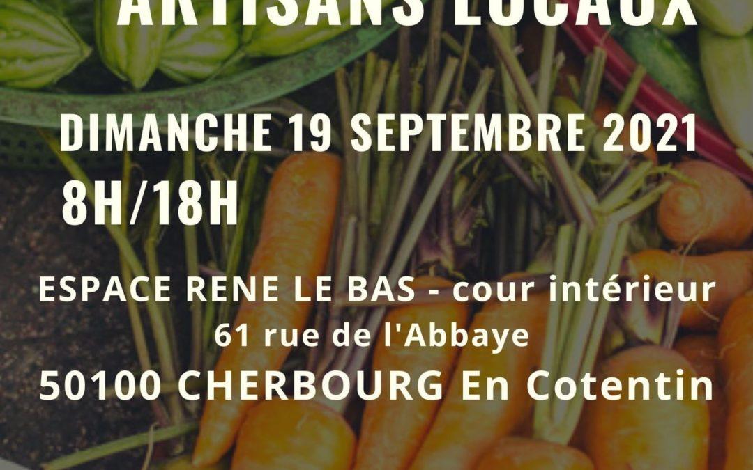Dimanche 19 Septembre : Marché du Terroir dans la Cour Intérieure de l'ancien Hôpital Maritime de Cherbourg